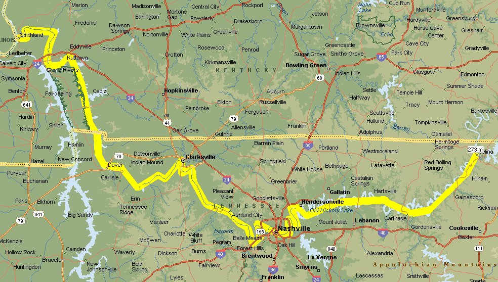 Cumberland River Cruise Great Loop Cruising Blog